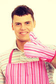 Pimk apron. — Stock Photo