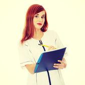 Médico o enfermera — Foto de Stock