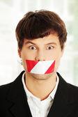Freedom of speech concept. — Stock Photo