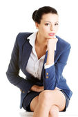 Attractive businesswoman — Stok fotoğraf