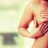 Brust-krebs-prüfung — Stockfoto