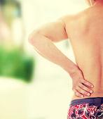 Back pain concept — Stock Photo