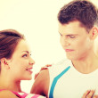 Happy young couple — Stock Photo #41532557