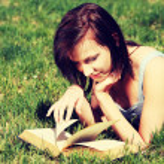 Woman reading book — Stock Photo #41539115
