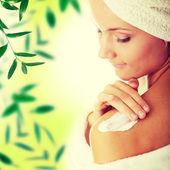 Skincare concept — Stock Photo