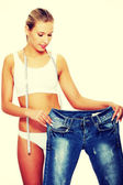 Ztráta hmotnosti — Stock fotografie