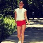 Woman running — Stock Photo #42257671