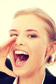 šťastné ženy — Stock fotografie