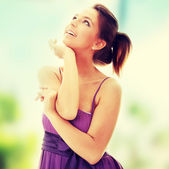 Chica atractiva — Foto de Stock