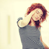 Migraine Headache — Zdjęcie stockowe