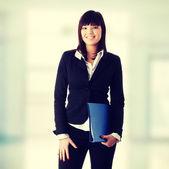 Kendine güvenen iş kadını — Stok fotoğraf