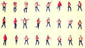 青少年现代舞蹈家 — 图库照片