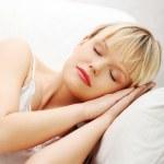 Woman is sleeping. — Stock Photo