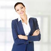 Mulher de negócios ou estudante em roupas elegantes — Foto Stock