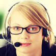 Customer service operator — Stock Photo #42738033