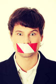Freedom of speech concept. — Stock Photo