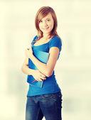 Teen student girl — Stock Photo