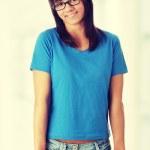 Student girl in glasses — Stock Photo #42741163