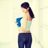 Teen student girl — Stockfoto