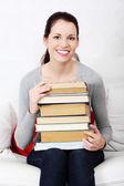 Meny books. — Stock fotografie