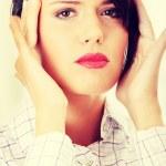 Businesswoman with headache — Stock Photo #46366225