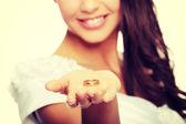 Bride portrait — Fotografia Stock