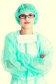 Jeune médecin — Photo