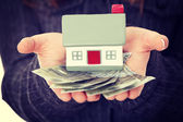 Real estate loan concept — Stock Photo