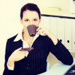 Break for business woman. — Stock Photo #49140347