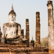 Buddha in Sukhothai, Thailand — Stock Photo