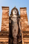 Buddha in Sukhothai, Thailand — Stock Photo