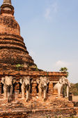 Wat Sorasak, Sukhothai. Thailand — Stock Photo