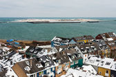 Helgoland and Dune in Winter — Stock Photo