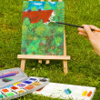 Stock Photo: Painting