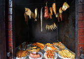 Ryby morskie z wędzarni — Zdjęcie stockowe