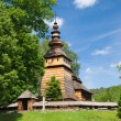 Wooden Orthodox Church in Kotan, Poland — Stock Photo