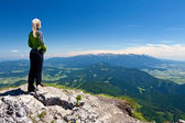 View from Velky Chocz, Slovakia — Stock Photo