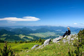 View at Mala Fatra in Slovakia — Stock Photo