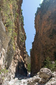Samaria Gorge, Crete, Greece — Stock Photo