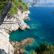 Montenegro coast near Petrovac — Stock Photo