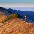 Sunset activity in Tatra Mountains, Poland - Stock Photo
