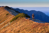 Sunset activity in Tatra Mountains, Poland — Stock Photo