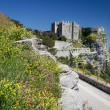 Medieval Castle of Venus in Erice, Sicily - Stock Photo