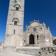 Medieval Catholic Church Chiesa Matrice in Erice, Sicily - Foto Stock