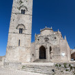 Medieval Catholic Church Chiesa Matrice in Erice, Sicily - Stock Photo