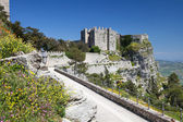 Medieval Castle in Erice, Italy — Stock Photo
