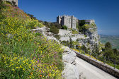 Medieval Castle of Venus in Erice, Sicily — Foto Stock