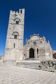 Medieval Catholic Church Chiesa Matrice in Erice, Sicily — Stock Photo