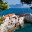 Petrovac city, Montenegro — Stock Photo