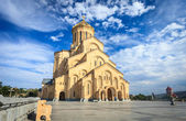 The Holy Trinity Cathedral of Tbilisi, Georgia — Stock Photo